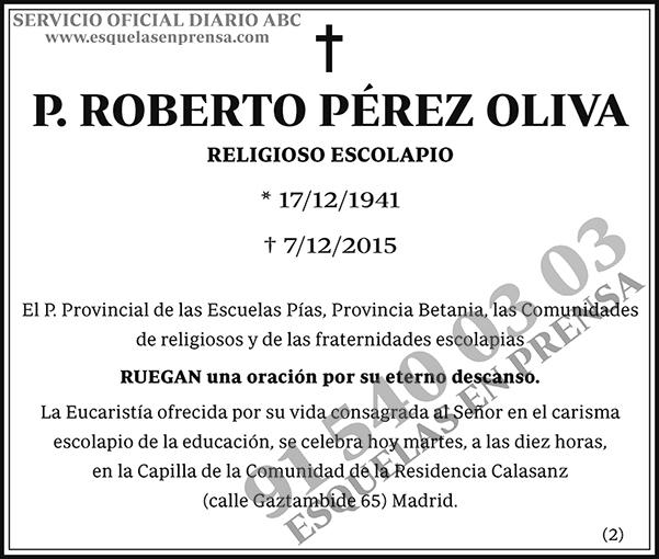 Roberto Pérez Oliva